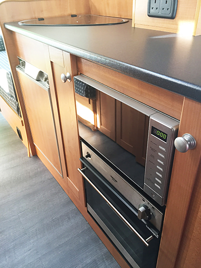 Maple Internal Fit Out Magnum Motorhomes