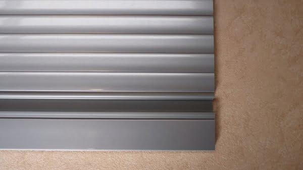 Tambour Doors u2013 Silver & Tambour Doors - Silver - Magnum Motorhomes
