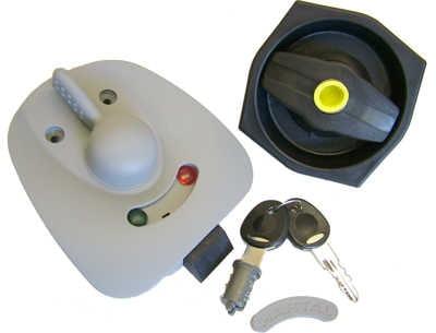 Hartal Exterior Door Lock Basic - Magnum Motorhomes