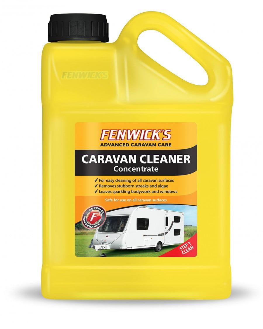 fenwicks motorhome cleaner how to use