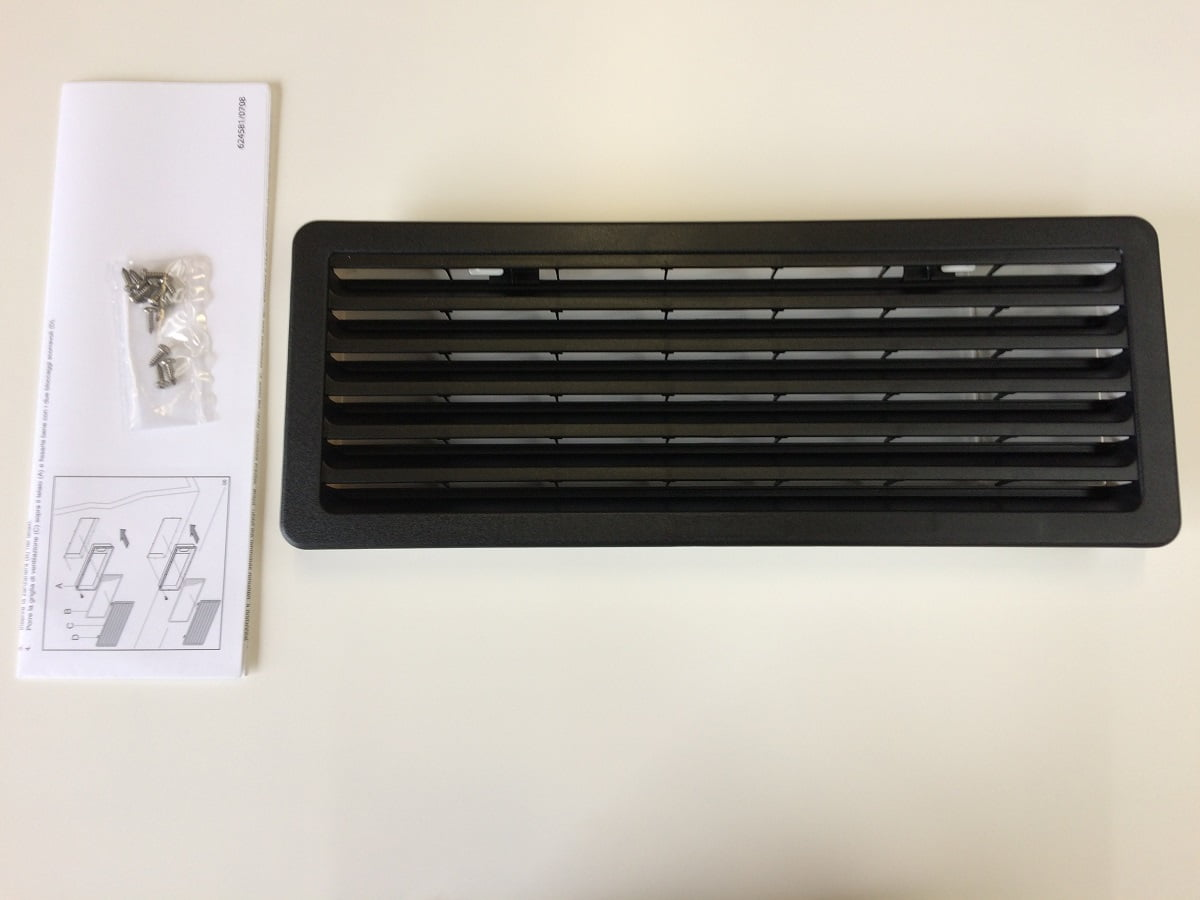 Product Image Thetford Fridge Vent Small Black Small Black on Thetford Fridge Parts