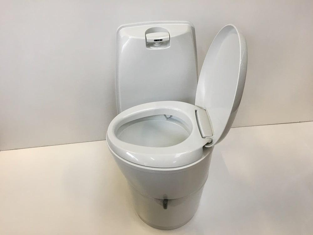 Thetford Cassette Toilet : Thetford c cw cassette toilet manual flush magnum motorhomes