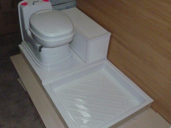 C200 Surround Amp Shower Tray Magnum Motorhomes